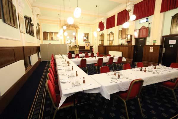Athol MAsonic Dining Room Birmingham