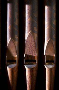 Old Pipe Organ in Birmingham City Masonic Hall