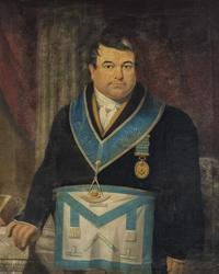 William Stone in Birmingham Masonic Hall